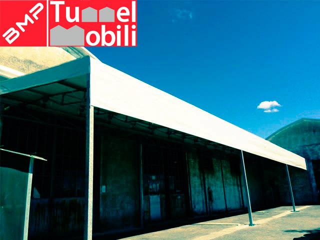 tunnel mobili monofalda sospesa, prodotto di Tunnel Mobili s.r.l disponibile per le aziende della Toscana