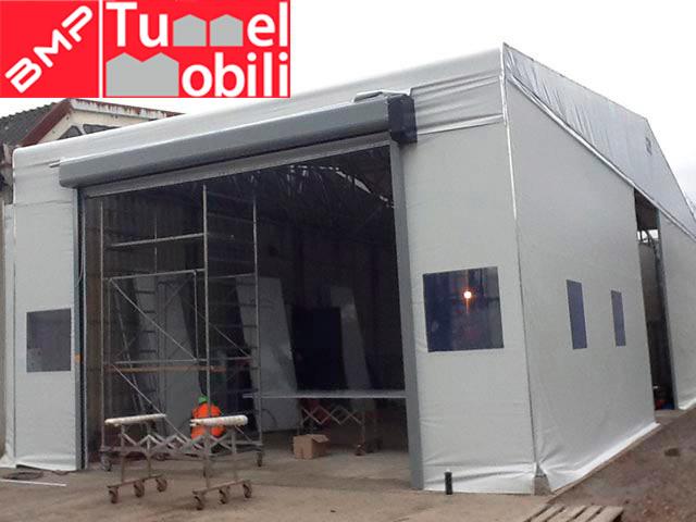 installazione capannoni mobili