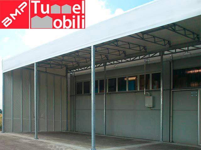tunnel mobili monofalda sospesa, prodotto di Tunnel Mobili s.r.l disponibile per le aziende della Toscana grazie alla consulenza di S.i.m.i s.r.l