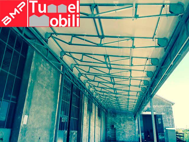 tunnel mobili a monofalda sospesa per le aziende della Toscana