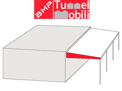 Disegno modello monofalda