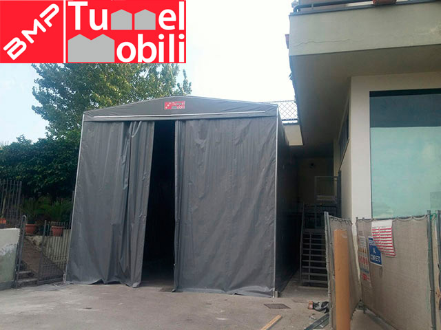 tunnel mobili frontali
